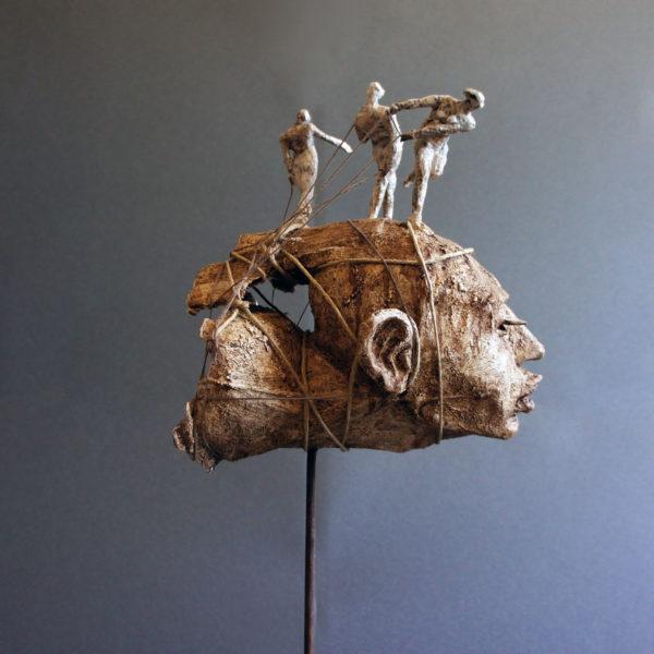 Controvento vittorio iavazzo scultore artist