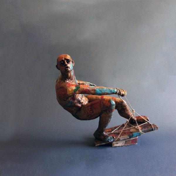 Oltre la tempesta vittorio iavazzo scultore artist artista