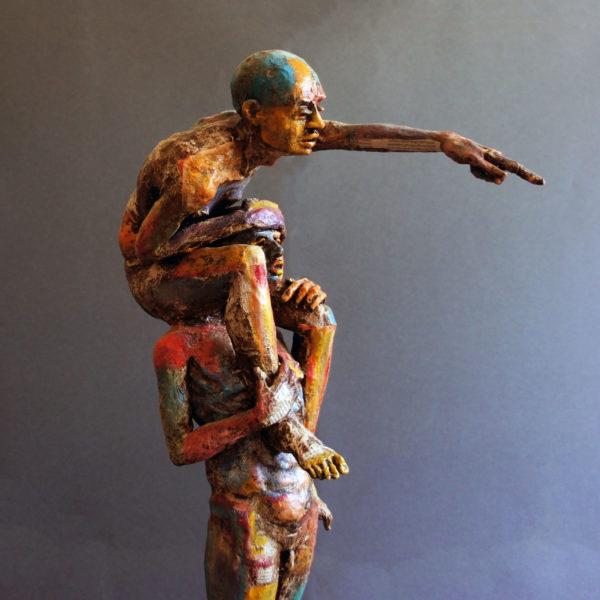Oltre vittorio iavazzo scultore artista artist