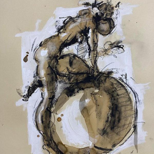 #artist #sculptor #rome #neapolitanartist #cartapesta #papermache #artsculpture #contemporaryart #giacometti #disegni #drawins #sculturacarta #artwork #kunst #kunstwerk #vittorioiavazzo #manonballoon #sculpture #artista #scultore #artgallery #handstandman #pallone #sculture #opereiavazzo #arteitaliana #artecontemporanea #cacciatoridistelle #disegni #studi #studipreparatori #caffe #dipinti #paintings #oilsketch #sketches #drawings #dessins #dessin #artdrawing #bigbubble #bubble #bubbledrawingsserie